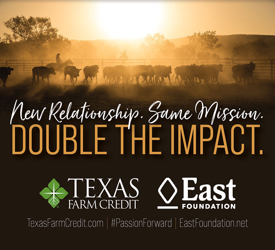Texas Farm Credit Announces East Foundation Partnership